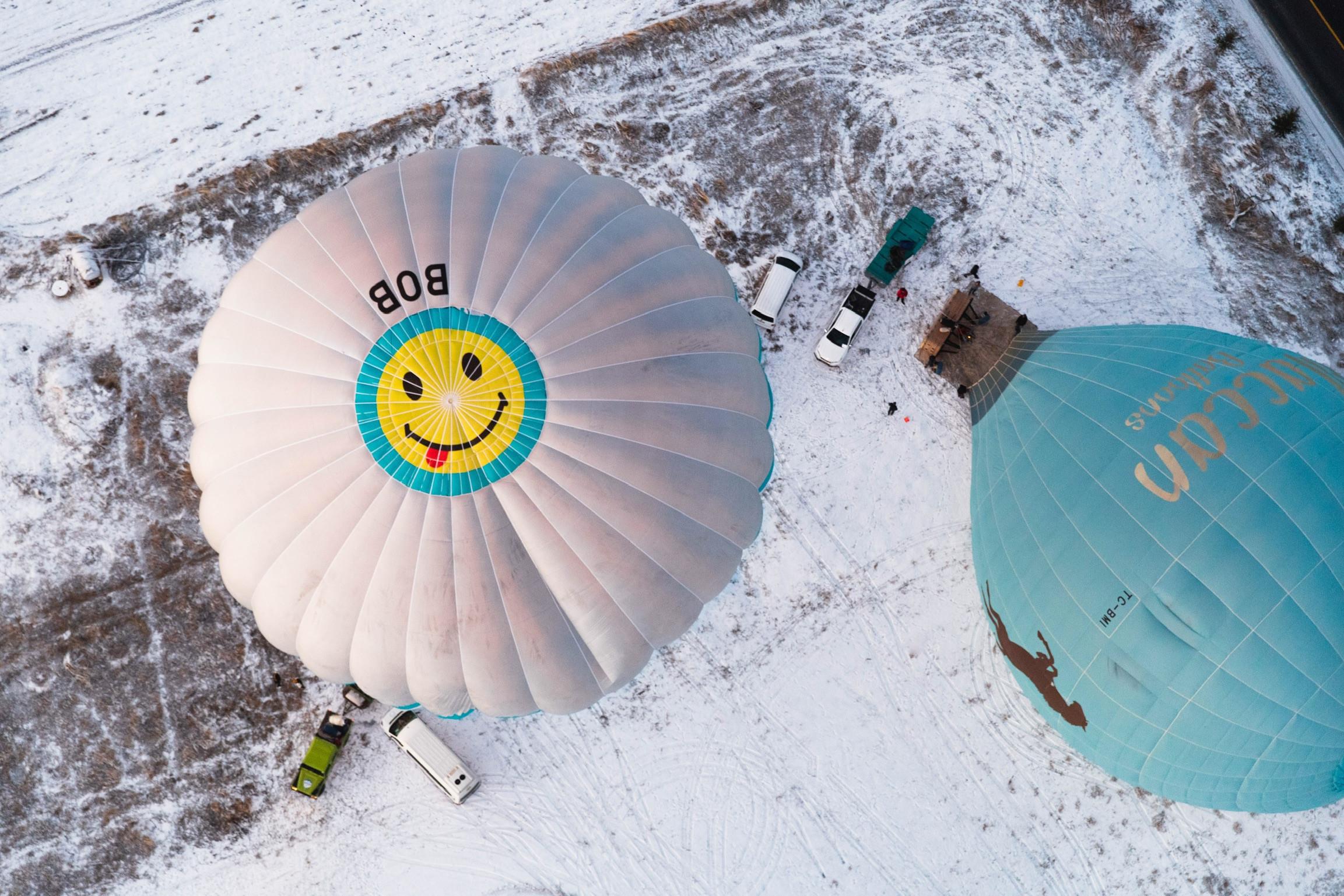 Роскошная поездка на воздушном шаре