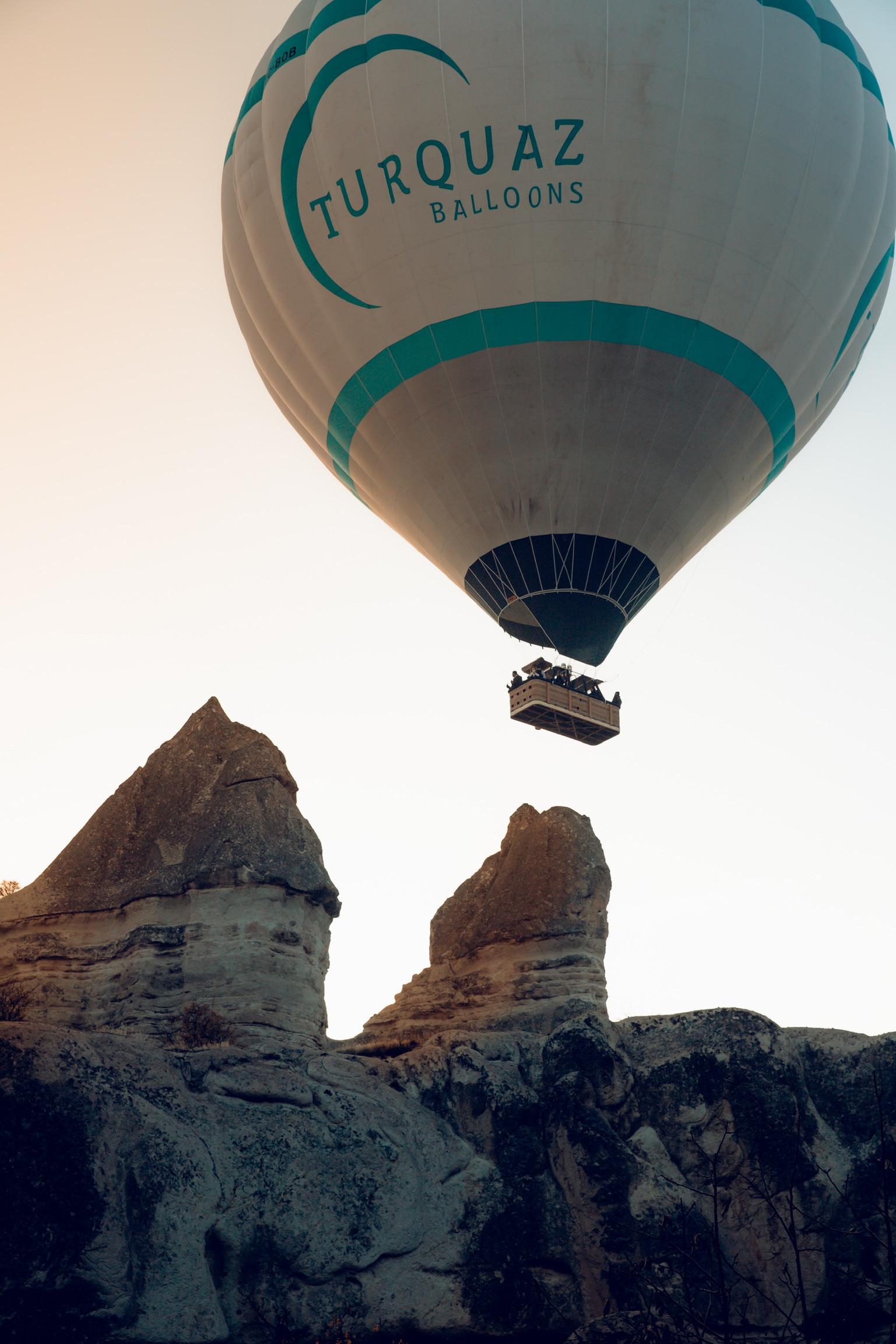 卡帕多奇亚最实惠的热气球之旅!